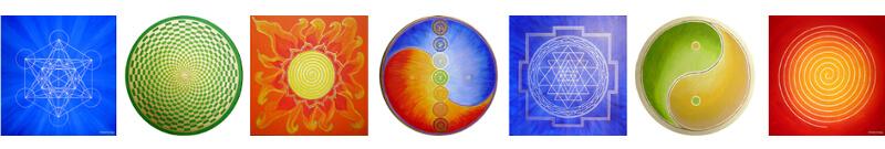 heilige Geometrie Energiebilder