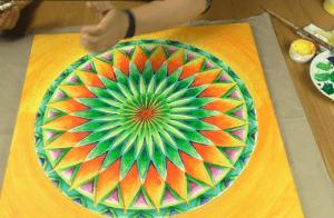 Mandala Malkurs lernen