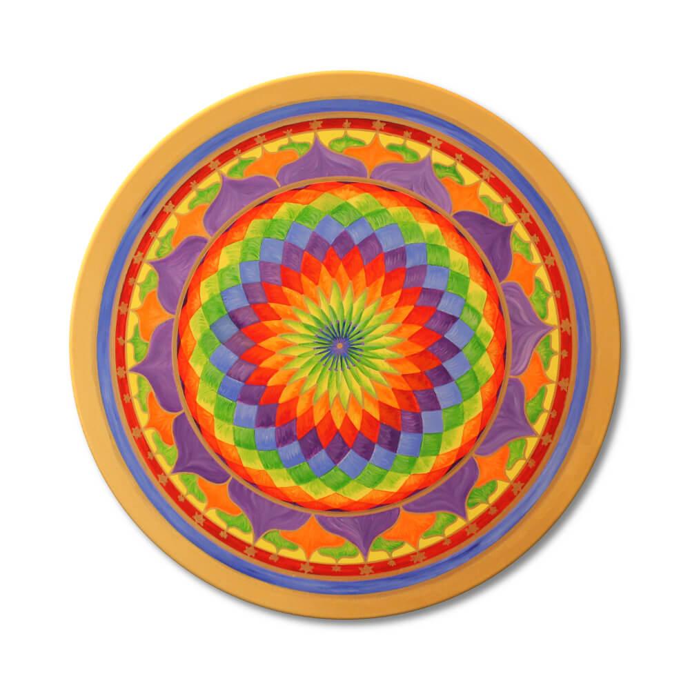 Mandala Regenbogen Frontalbild Art 151