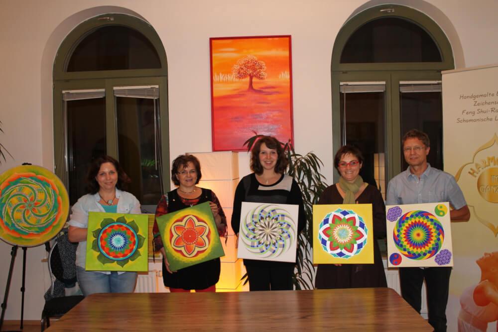 Blume des Lebens malen Workshop